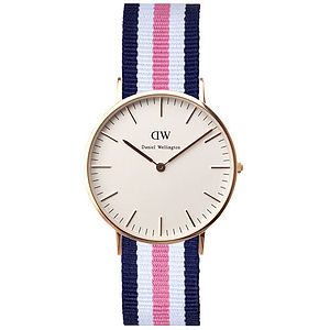 Women's Nato Strap Analog Watch