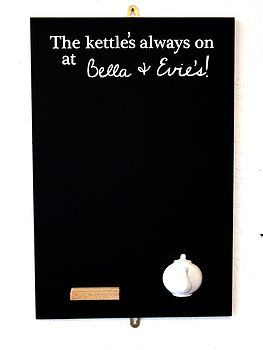 Personalised Spout Hook Chalkboard