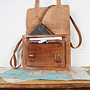 Leather Amsterdam Satchel