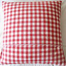 Reverse - Red Gingham