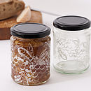 Honey Bee Glass Jar