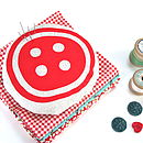 Big Button Pin Cushion