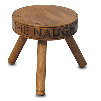 Personalised Three Legged Stool