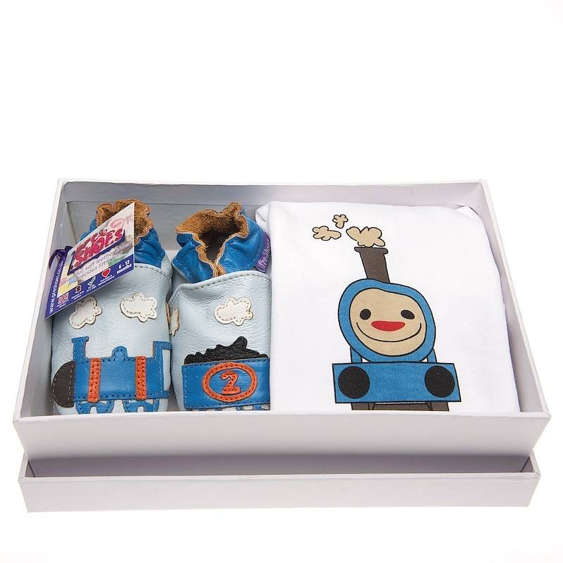 All Aboard Train Gift Set