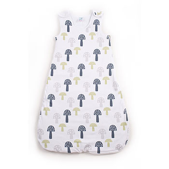 Printed Toadstool Baby Sleepbag