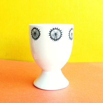 London Icon Wheel Egg Cup