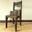 Ashburnham Sleeper Wood Chair