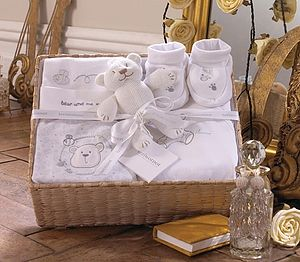 New Baby Gift Basket - baby care