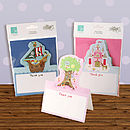 Pack Of Five Child's Thank You Cards