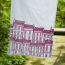 Screen Printed Houses Tea Towel