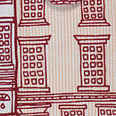 Red Houses iPad Cover