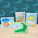 Pack Of Five Personalised Thank You Cards
