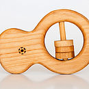Classic Organic Wooden Rattle