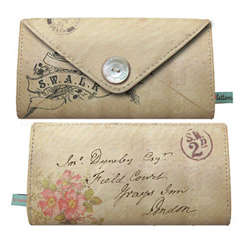 'Antique Letter' 'S.W.A.L.K.' Wallet