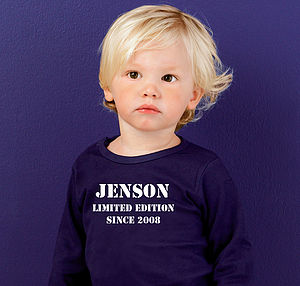 Personalised Child's T Shirt - clothing