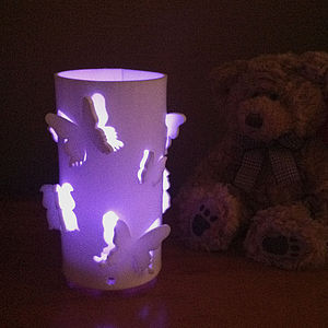 Butterfly Colour Changing LED With Sensor - candles & candlesticks