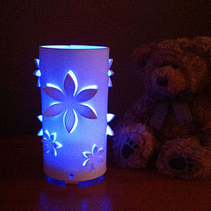 Flower Colour Changing LED Light With Sensor - lighting
