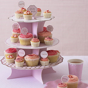 Card Three Tier Cake Stand
