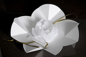 Origami Lotus Flower Invitation - invitations