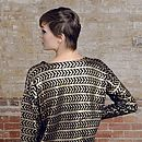 £10 Off Metallic Aztec Knit Jumper Was £24