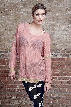 50% Off Wool Mix Oversized Jumper Was £35