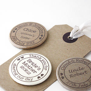 Personalised Special Occasion Name Badge