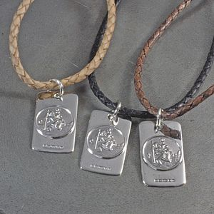 St Christopher Necklace - birthday gifts