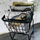Nordal Downtown Basket On Wheels
