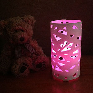 Criss Cross Colour Changing LED With Sensor - children's lighting