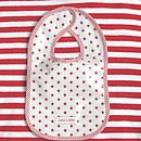 Red Star Oilcloth Bib