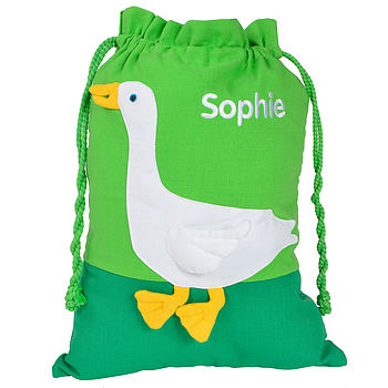 Fair Trade Goose Gym Bag