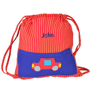 Fair Trade Car Gym Bag - baby's room