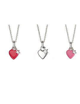 Heart and Star Necklace
