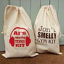 Personalised Gym Sports Kit Bag