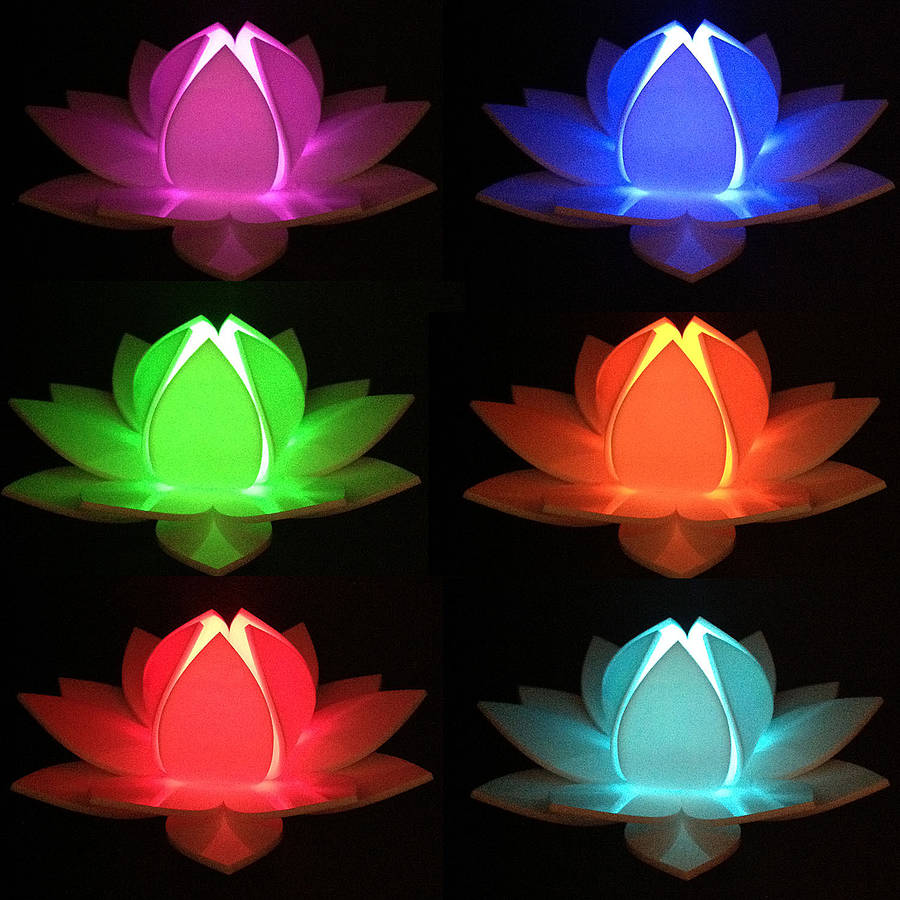 Lotus flower colour changing led battery operated light by kirsty lotus flower colour changing led battery operated light mightylinksfo