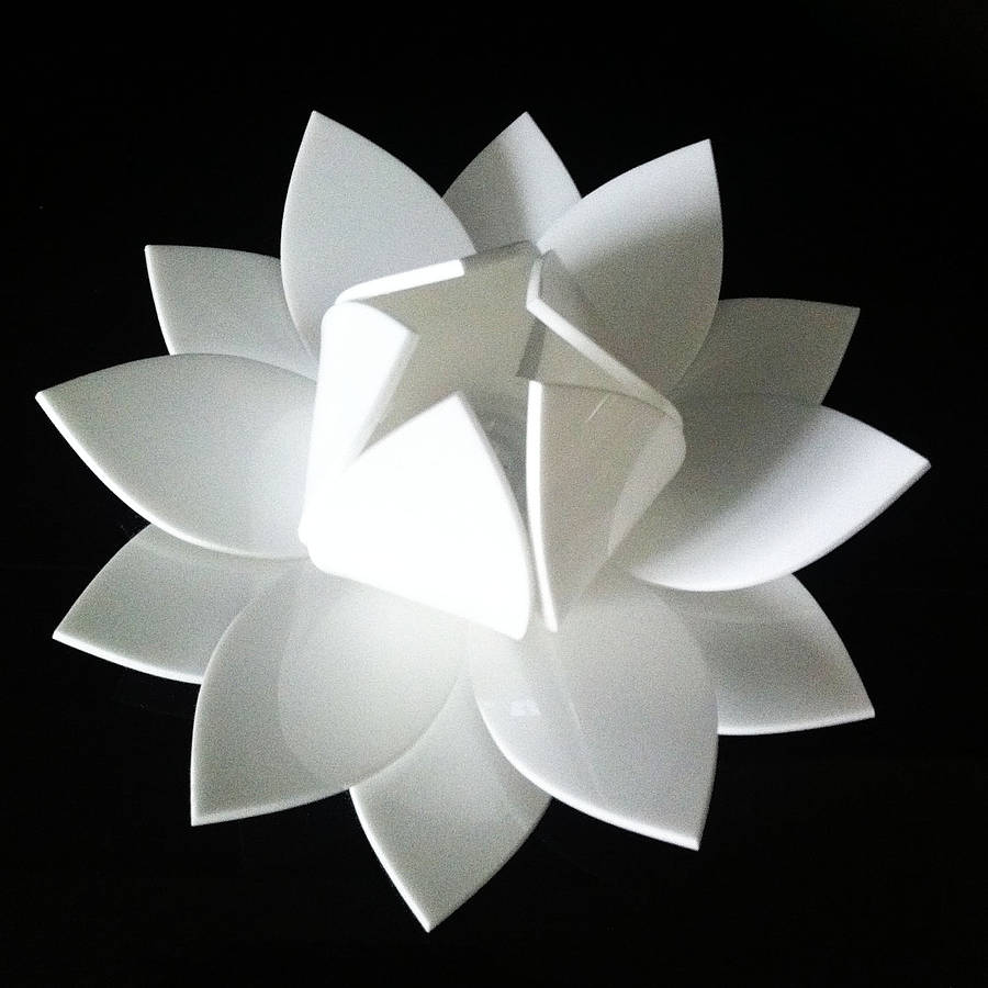 Lotus flower colour changing led battery operated light by kirsty lotus flower switched off mightylinksfo