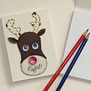 Personalised Embroidered Notebook