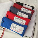 Personalised London Street Sign Glasses Case