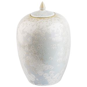 Ceramic Ginger Jar - living room