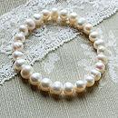 Elasticated Freshwater Pearl Bracelet