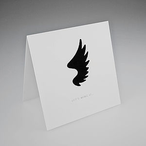 Flock Wing Card