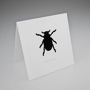 Flock Beetle Card