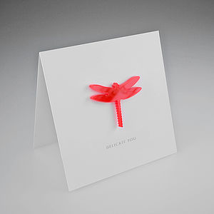 Magnetic Dragonfly Gift Card