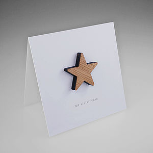 Oak Star Magnetic Gift Card