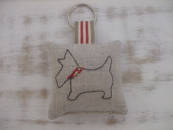 Scottie Dog Key Ring