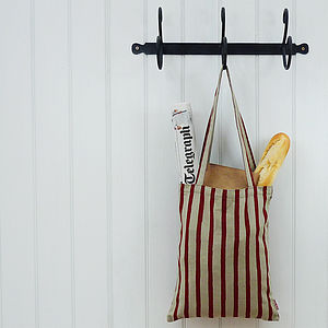Stripe Shopper Bag - bags, purses & wallets