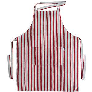 Stripe Apron - kitchen accessories