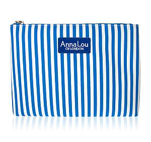 Candy Stripe Make Up Bag - make-up & wash bags
