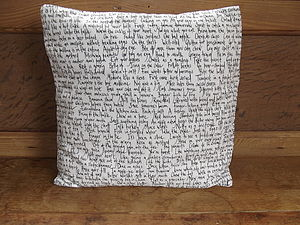 Idiom Cushion Cover - cushions