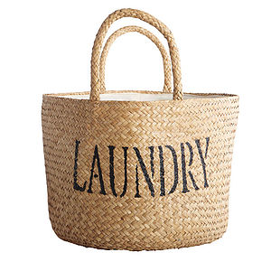 'Laundry' Basket - laundry room